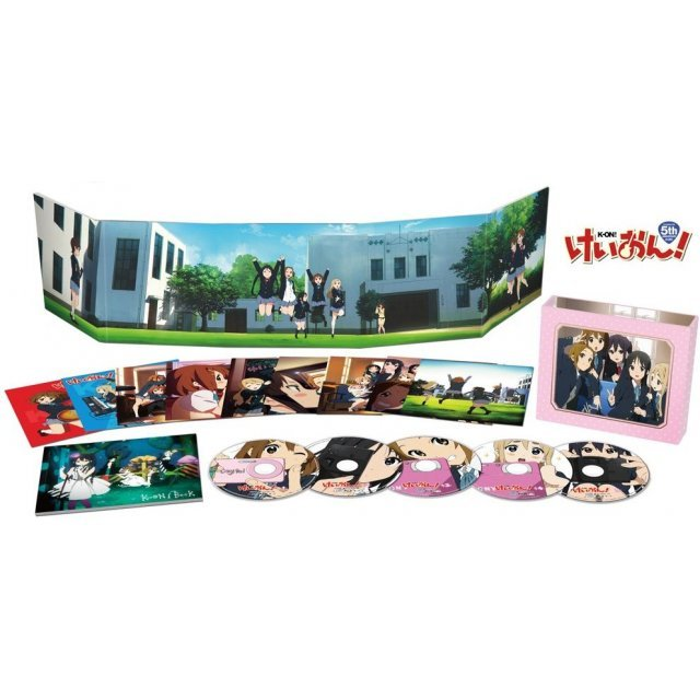 K-ON! Blu-ray Box [Limited Edition]