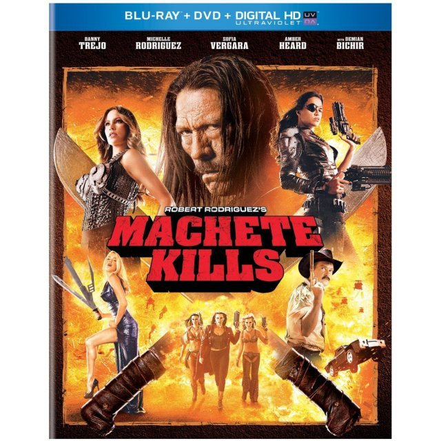 Machete Kills [Blu-ray+DVD+Digital Copy+UltraViolet]