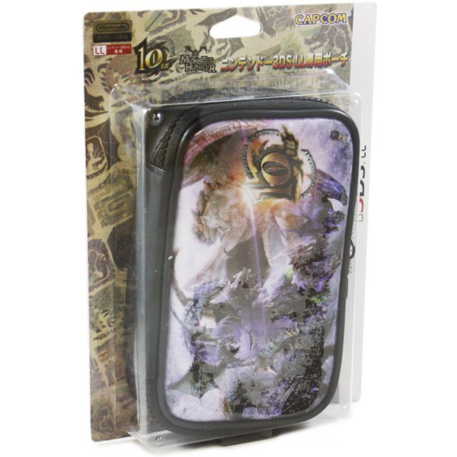 Monster Hunter 10th Anniversary Pouch for 3DS LL (Full color)