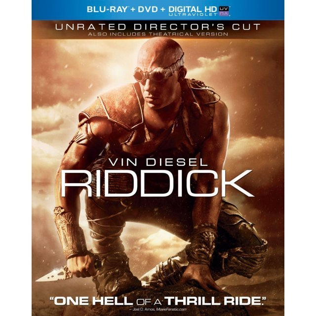 Riddick [Blu-ray+DVD+Digital HD UltraViolet]
