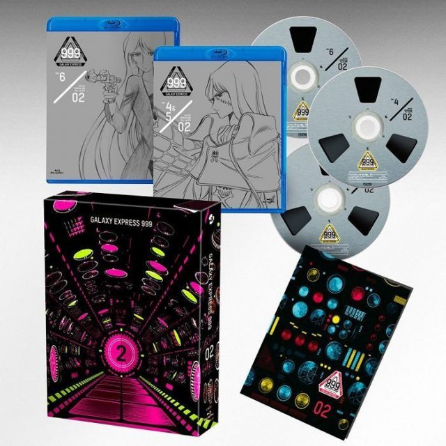 Galaxy Express 999 Matsumoto Leiji 60th Career Anniversary Blu-ray Box 2
