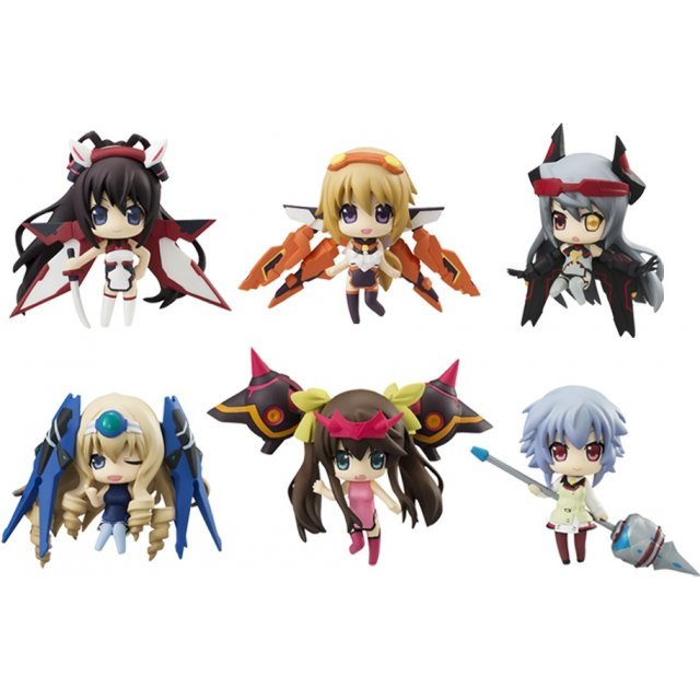 IS (Infinite Stratos) Collection Figure DX (Set of 8 Pieces)