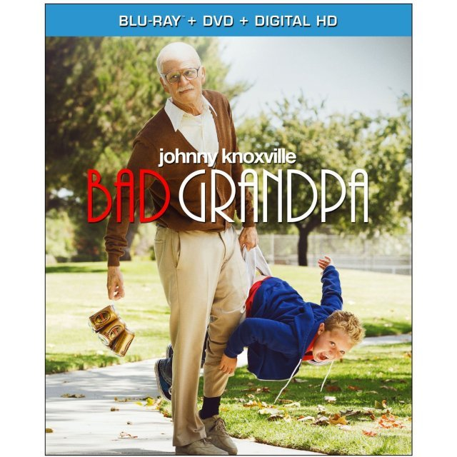 Jackass Presents: Bad Grandpa [Blu-ray+DVD+Digital Copy]