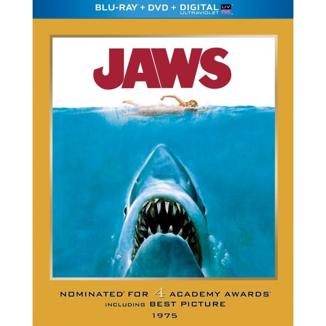 Jaws (Academy Award Series) [Blu-ray+DVD+Ultaviolet]