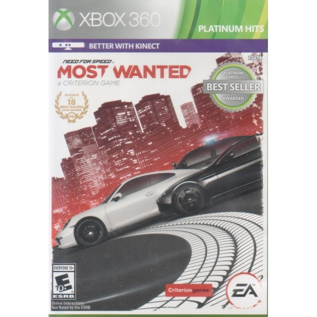 Need for Speed: Most Wanted - A Criterion Game (Platinum Hits)