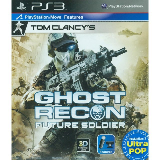 Tom Clancy's Ghost Recon: Future Soldier (PS3 Ultra Pop) (English)