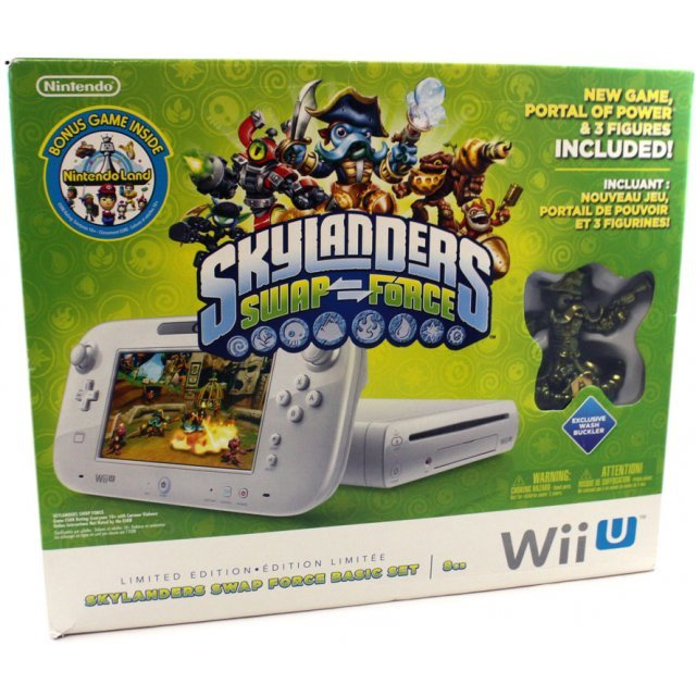 Wii U Skylanders SWAP Force Bundle