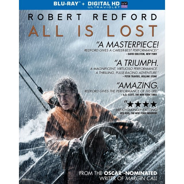 All Is Lost [Blu-ray+Digital Copy+UltraViolet]