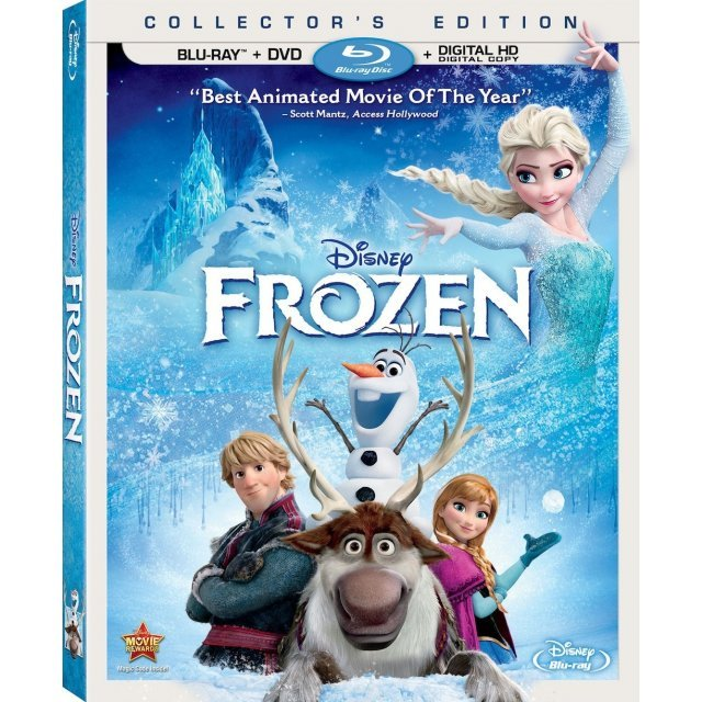 Frozen [Blu-ray+DVD+Digital Copy]