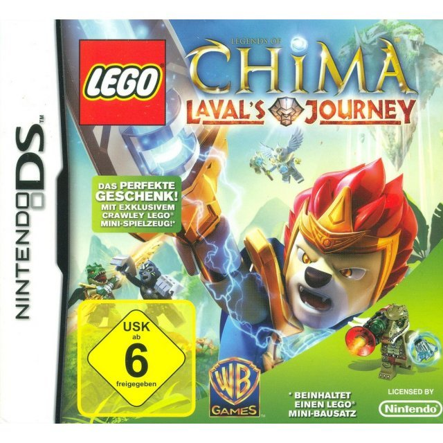 LEGO Legends of Chima: Laval's Journey (w/ Crawley LEGO Mini-Toy) (German Edition)