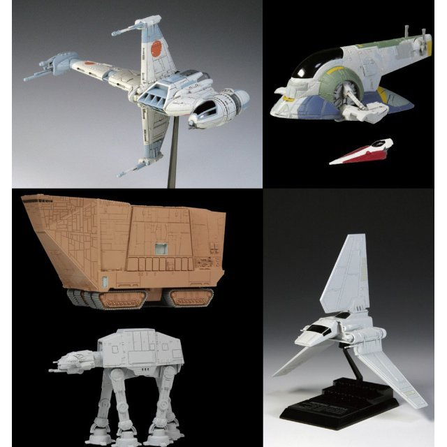 Star Wars Vehicle Collection 7 (Set of 10 pieces)