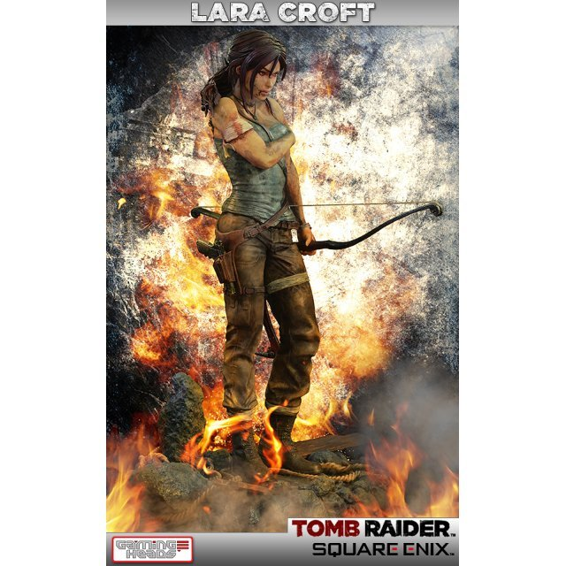 Tomb Raider Statue: Lara Croft Survivor