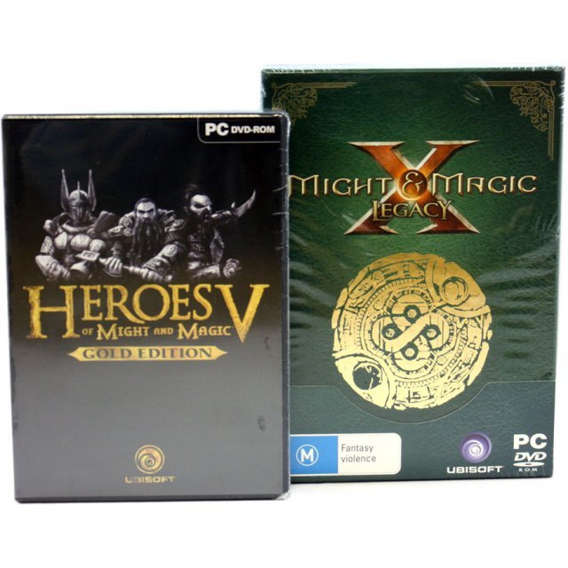 Heroes of Might and Magic X Legacy & Heroes of Might and Magic V Gold Edition (Special Bundle) (DVD-ROM)