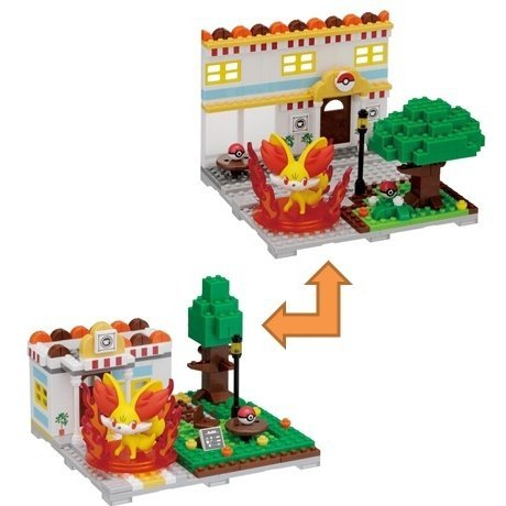 Nanoblock PP-003: Pokemon Fokko's Coffee Shop