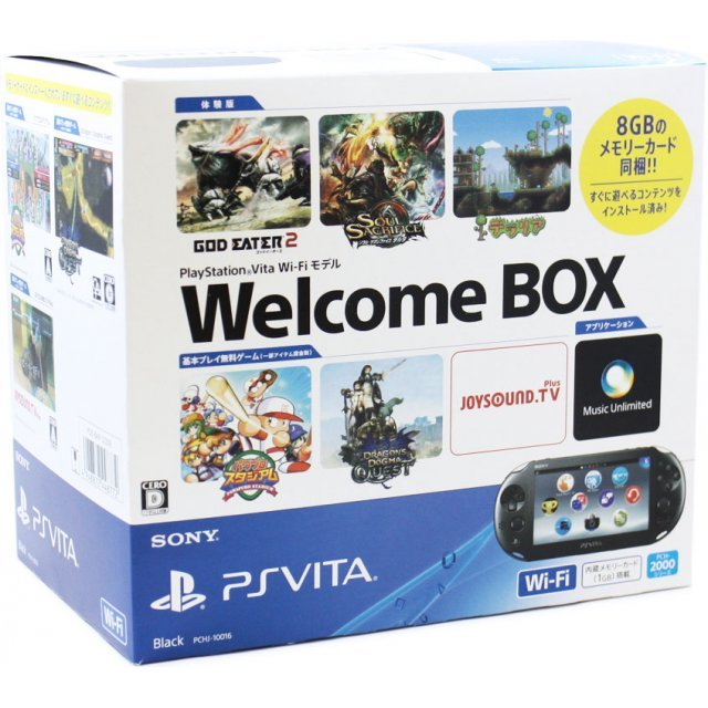 PS Vita PlayStation Vita New Slim Model Welcome Box