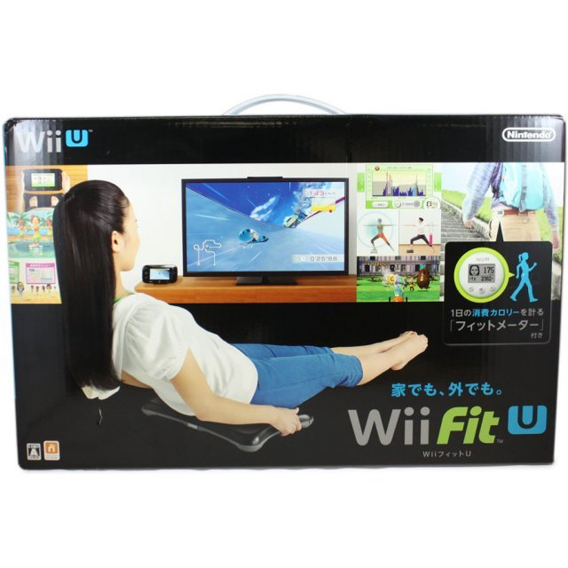 Wii Fit U Wii Balance Board + Fit Meter Set (Black & Green)