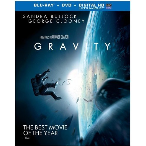 Gravity [Blu-ray+DVD+Ultraviolet]