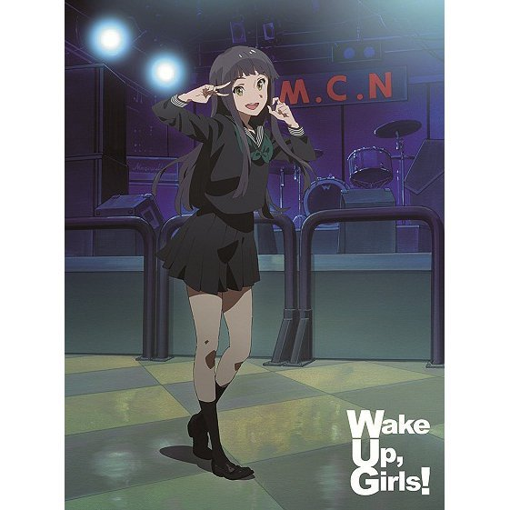 Wake Up Girls Vol.6 [Blu-ray+CD Limited Edition]