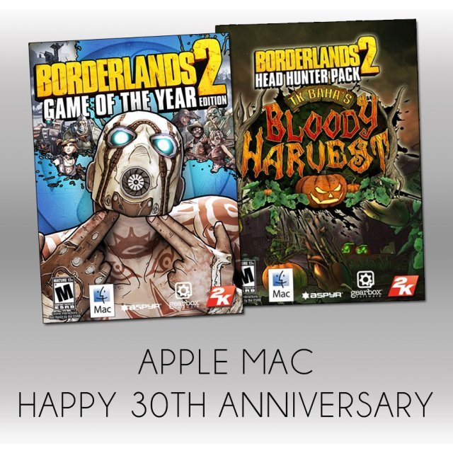 Borderlands 2 [Apple Mac 30th Anniversary Special Bundle