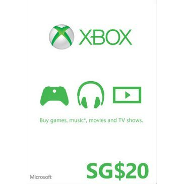 Xbox Gift Card (SGD 20)