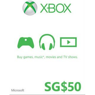 Xbox Gift Card (SGD 50)
