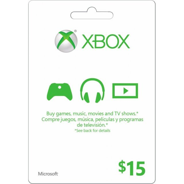 Xbox Gift Card (USD 15)