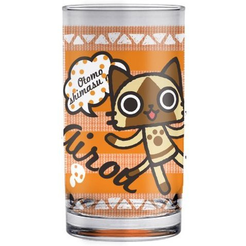 Monster Hunter Airou 8 Ounce Glass: Airou