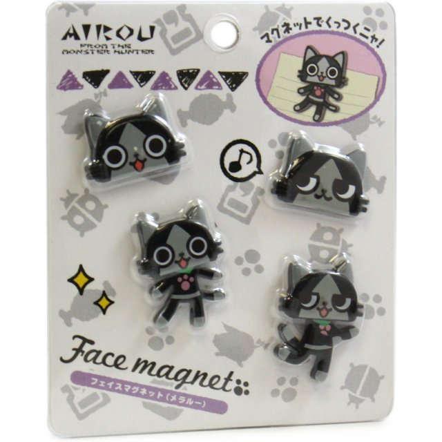 Monster Hunter Airou Face Magnet: Melaleu