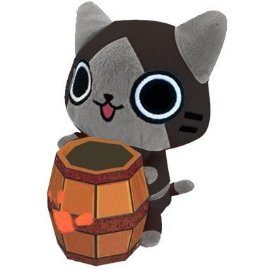 Monster Hunter Airou Fancy Goods Holder: Melaleu