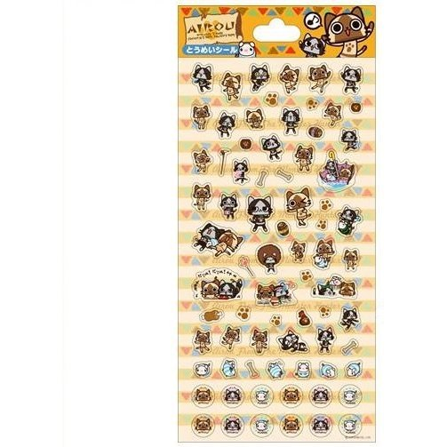 Monster Hunter Airou Transparency Seal