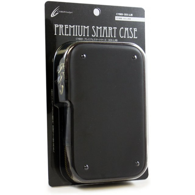 Cyber Premium Smart Case for 3DS LL (Black)