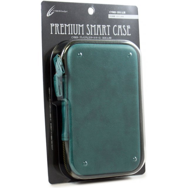 Cyber Premium Smart Case for 3DS LL (Turquoise)
