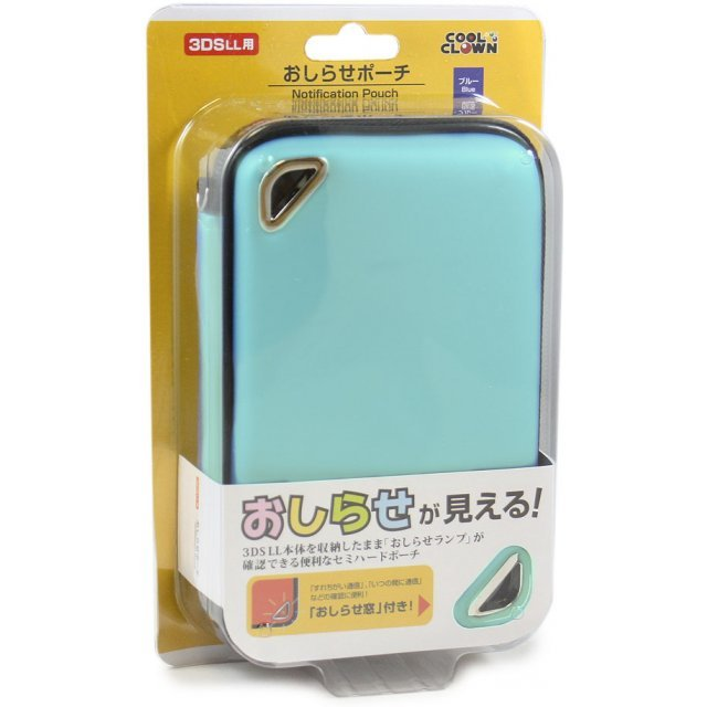 Oshirase Pouch for 3DS LL (Mint)