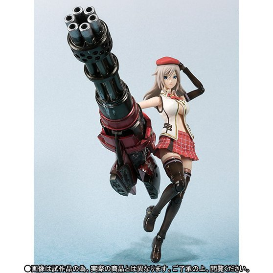 S.H.Figuarts: Alisa Illinichina Amiella - God Eater 2 Edition (Tamashii Web exclusive)