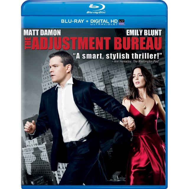 The Adjustment Bureau [Blu-ray+Digital Copy+UltraViolet]