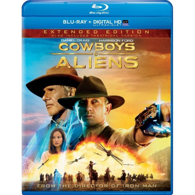 Cowboys & Aliens [Blu-ray+DVD]