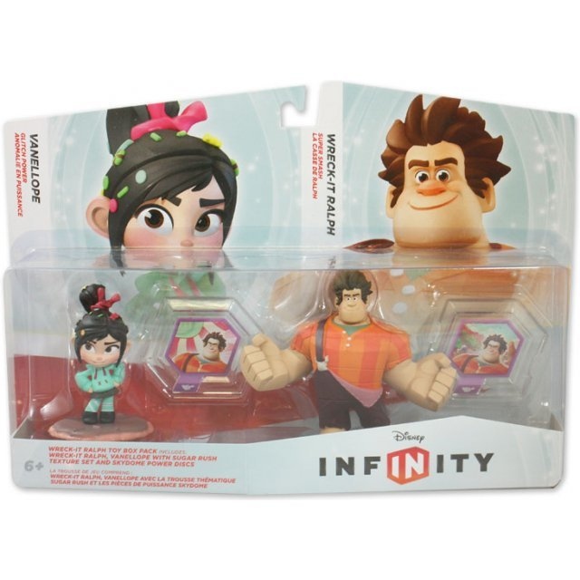Disney Infinity:Wreck-It-Ralph Toy Box Set