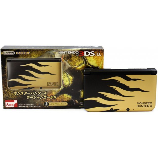Nintendo 3DS LL Monster Hunter 4 Edition (Rajang Gold)
