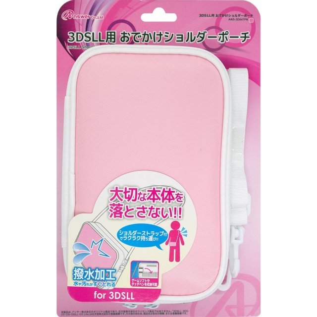 Odekake Shoulder Pouch for 3DS LL (Pink)
