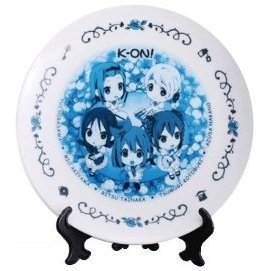 Ichiban Kuji - K-ON de Tea Time in Wonderland Art Plate [Mini Characters Version] [Prize G]