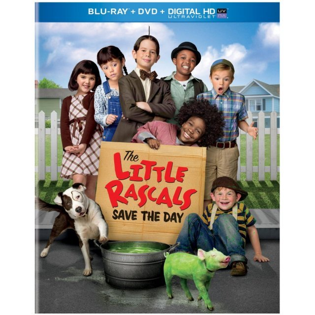 Little Rascals Save the Day [Blu-ray+DVD+Digital HD]