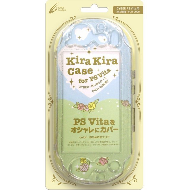 KiraKira Case for PlayStation Vita Slim (Ohimesama Clear)
