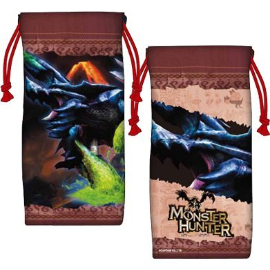 Monster Hunter Drawstring Pouch: Bracchidios