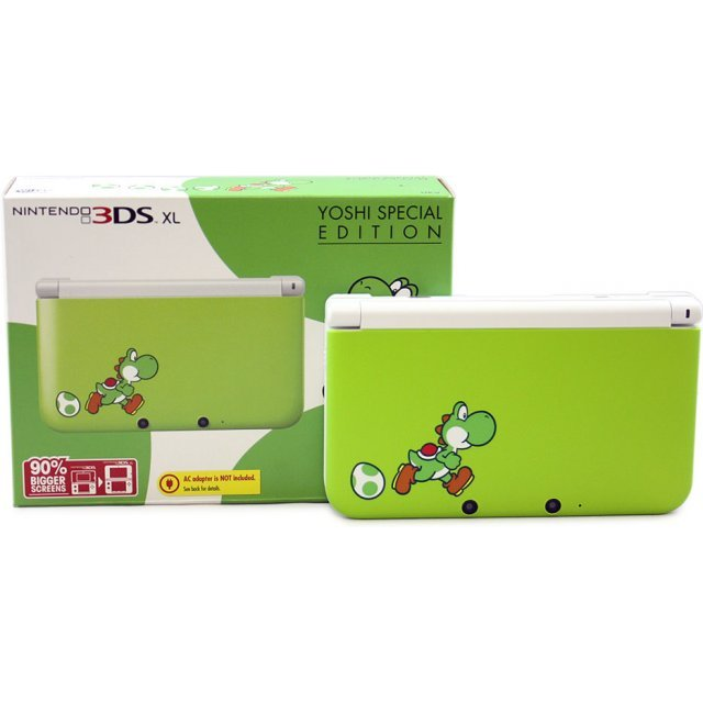 Nintendo 3DS XL Yoshi Special Edition (Green)