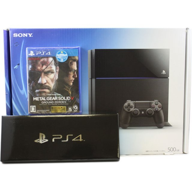 PS4×METAL GEAR SOLID V: GROUND ZEROES FOX EDITION