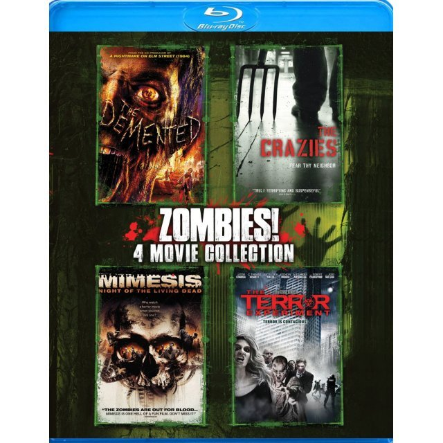 Zombies!: 4 Movie Collection