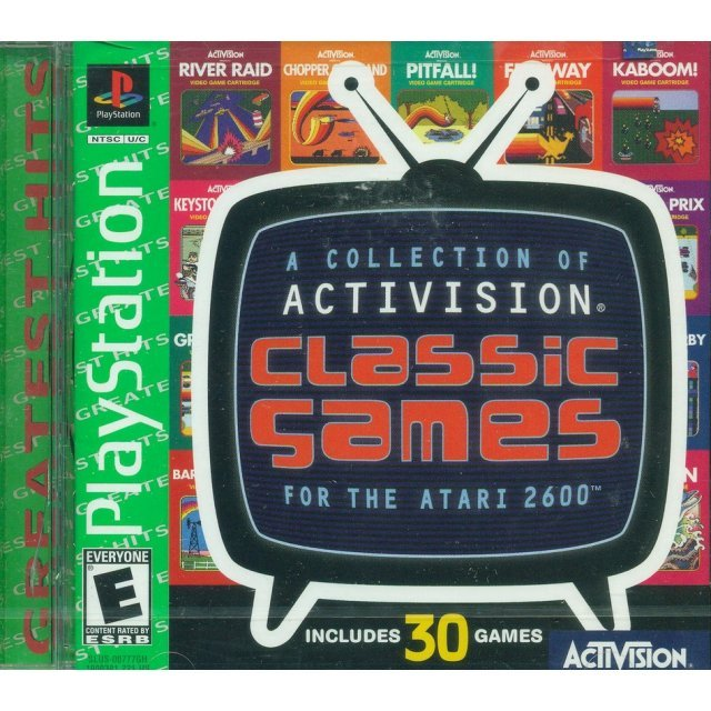 A Collection of Activision Classic Games for the Atari 2600 (Greatest Hits)