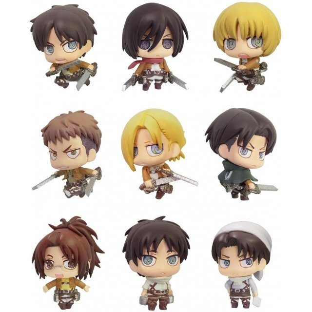 Color Collection Attack on Titan (Set of 8 pieces)