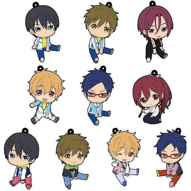 Penguin Parade Free! Petanko Trading Rubber Strap Vol.3 (Set of 10 pieces)