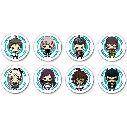Kotobukiya Jewel Strap Collection Super Danganronpa 2 Chapter 01 (Set of 8 pieces)
